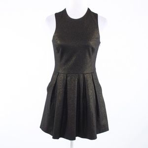 Hunter Bell dark green A-line dress S